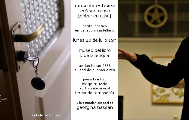 """El libro """"Entrar en casa"""", se presentará en el Museo del libro y de la Lengua"""