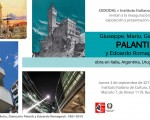 La exposición Palanti se realizará en el Instituto Italiano de Cultura
