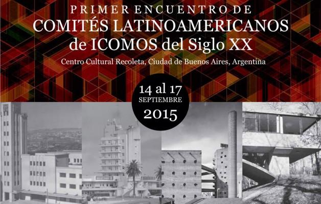 El Primer Encuentro de Comités Latinoamericanos de ICOMOS se realizará en el Centro Cultural Recoleta