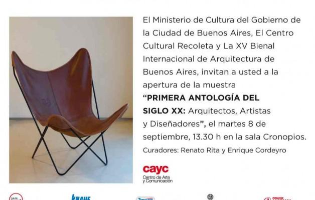 La primera antología del Siglo XX, se presentará en el Centro Cultural Recoleta