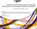 La VI Jornada Regional de Patrimonio Cultural se realizará en el Auditorio de la Escuela de Ciencias del Mar