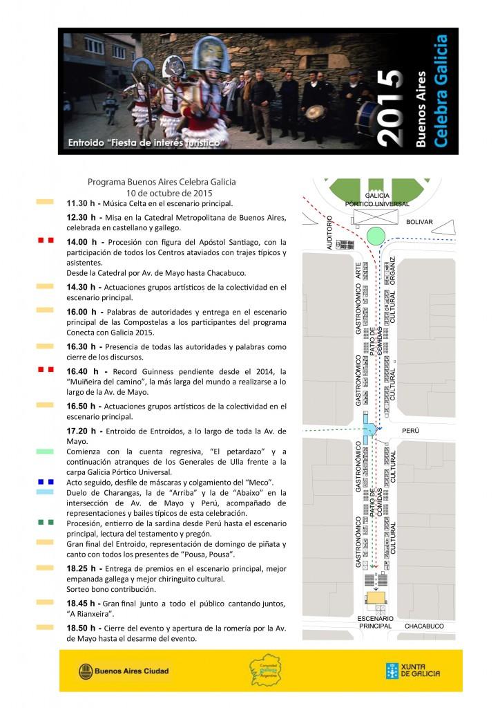 Programa Buenos Aires celebra Galicia 2015