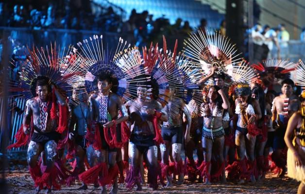 Los Juegos Mundiales Indígenas se iniciaron en la ciudad de Las Palmas, Brasil
