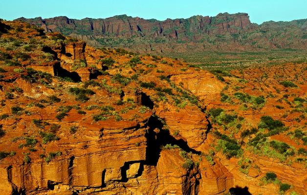 La Sierra de las Quijadas, el Parque Nacional se encuentra en una zona semiárida de San Luis
