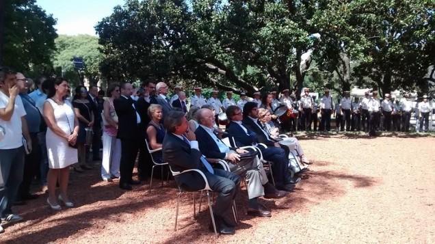 Homenaje a Domingo Faustino Sarmiento