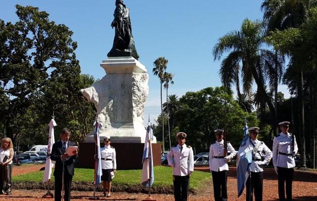 Domingo Faustino Sarmiento fue homenajeado por la Asociación Sarmientina