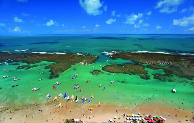 Porto de Galinhas es el quinto destino de ocio más visitado de Brasil