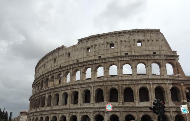 El Coliseo, símbolo de la ciudad de Roma
