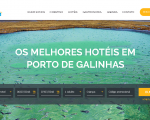 Porto De Galinhas lanzó su nueva plataforma con central de reservas hoteleras