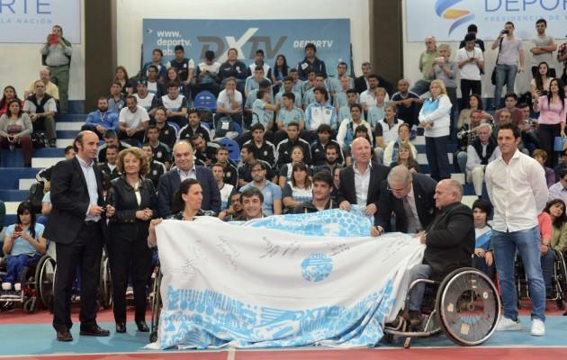 Los atletas que participarán en los Juegos Paralímpicos Rio 2016 fueron despedidos en el CeNARD