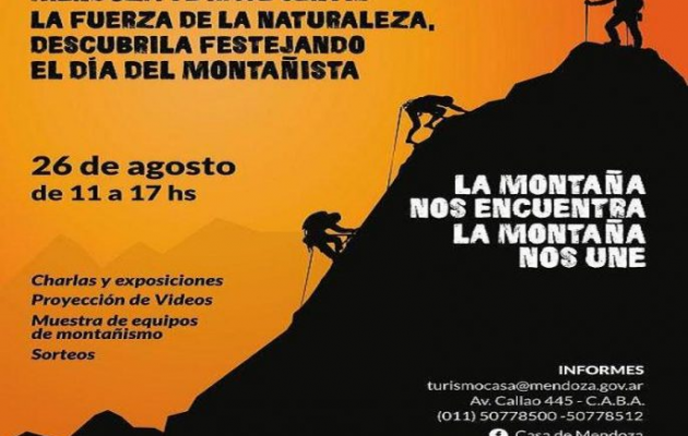 El Día de los Deportistas de Montaña se festejará en Casa de Mendoza
