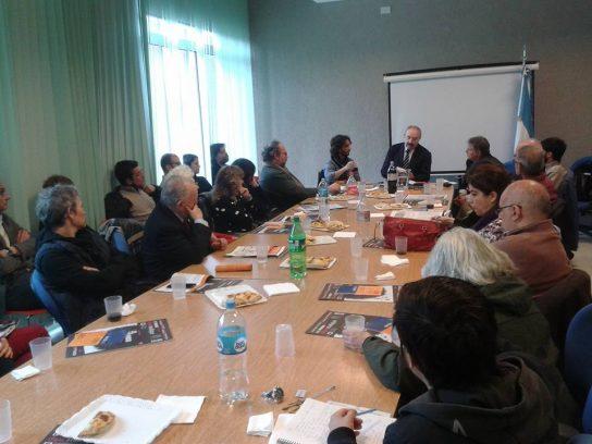 Público en la actividad con Ramón Villares