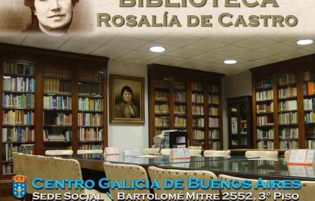 La Biblioteca Rosalía de Castro fomenta la cultura de la colectividad gallega