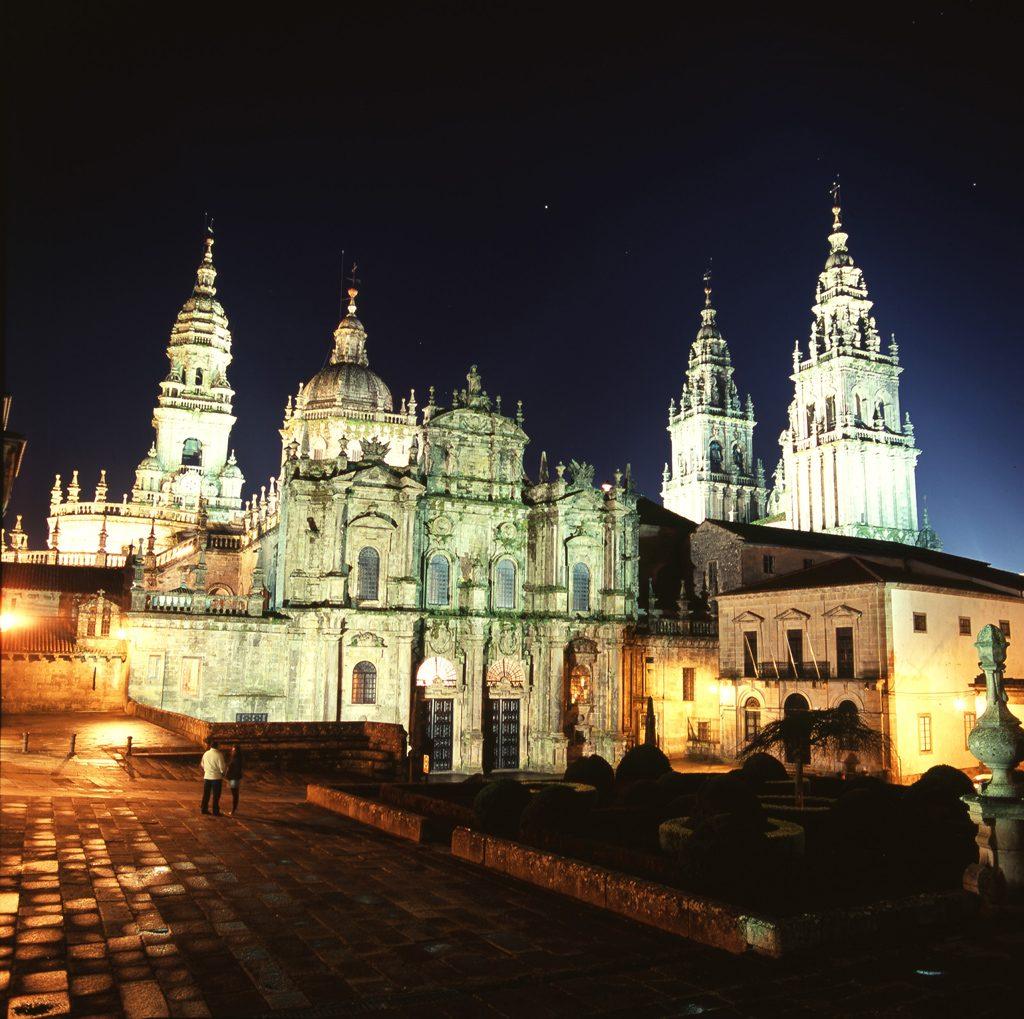 Santiago de Compostela - Plaza de la inmaculada