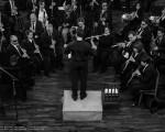 """La Banda Sinfónica Nacional de Ciegos """"Pascual Grisolía"""" actuó en el Centro Asturiano"""