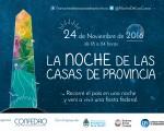 San Luis festejará la Noche de las Casas de Provincia 2016