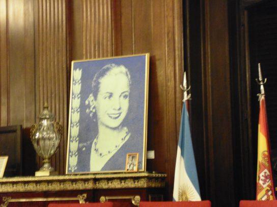Salón Eva Perón de la Legislatura Porteña