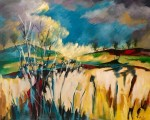 Cora Michudis, su mirada a nuestra tierra y las impresiones del mundo sobre la tela