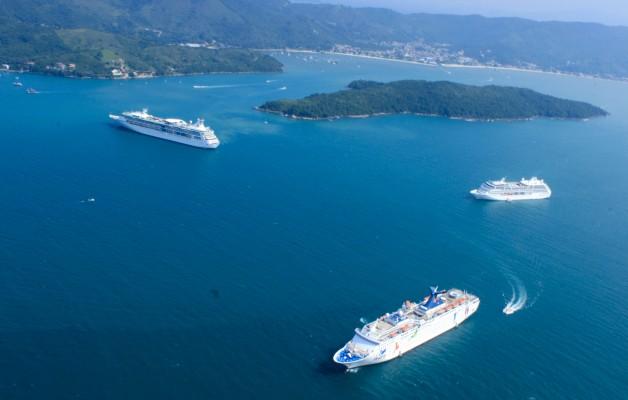 Los cruceros, una opción para viajar por aguas brasileñas