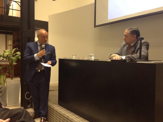 Doctor Eduardo Tenconi y Dr. Oscar De Masi