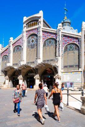 Mercado Valencia, España