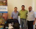 CODESAL y EMCONTUR coordinan acciones de prevención  en playas del perilago
