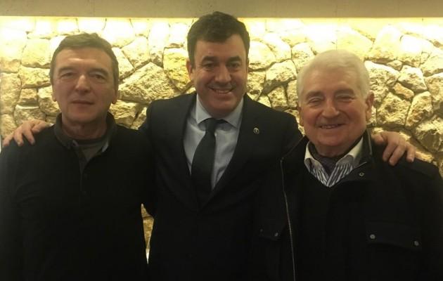 El presidente del Centro Galicia de Bs. As. se reunió con el Conselleiro de Cultura, Román Rodríguez González