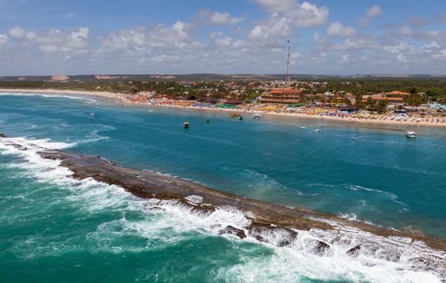 Praia dos Francés, uno de los destinos más atractivos del nordeste de Brasil