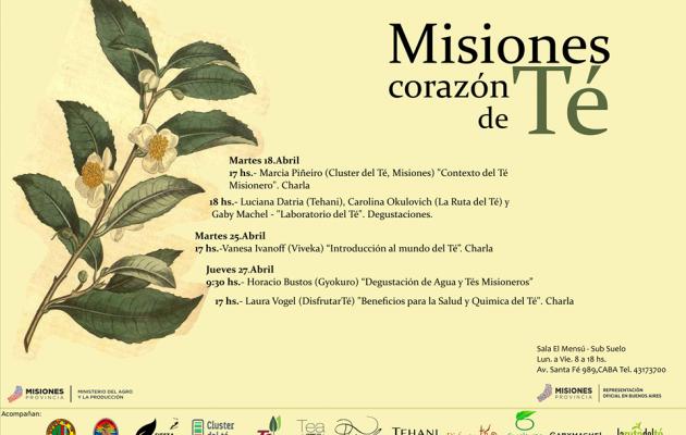 """La Casa de Misiones en Bs. As. presentará  el ciclo sobre """"Té Misionero"""""""