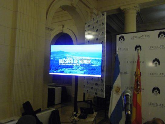"""Salón """"Eva Perón"""" de la Legislatura Porteña"""
