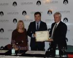 """Román Rodríguez González fue distinguido """"Huésped de Honor"""" por La Legislatura Porteña"""