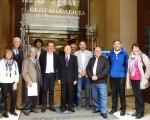 El Centro Galicia de Buenos Aires, agasajó a los alcaldes de Tui y Salceda