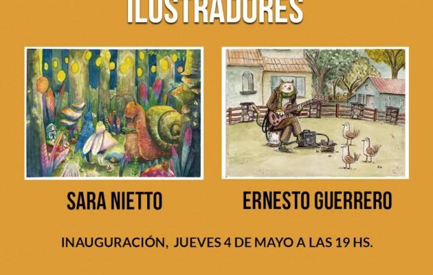 """La Casa de Mendoza presenta """"Ilustradores"""" de Sara Niett y Ernesto Guerrero"""