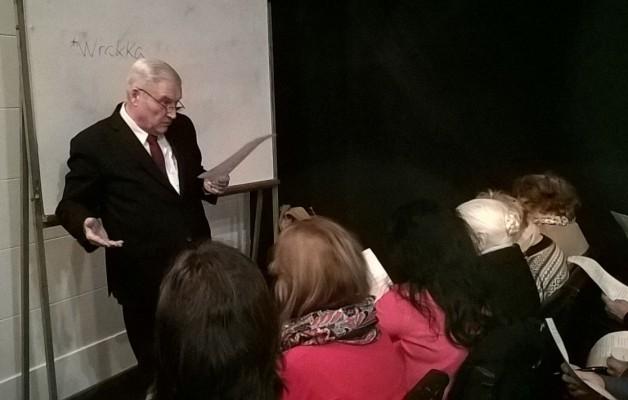 El curso de gallego se dicta en la Federación de Asociaciones Gallegas