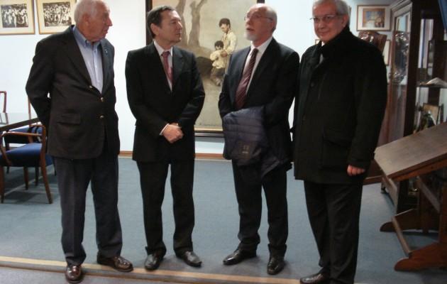 Don José Luis Mira Lema, visitó el Centro Galicia de Buenos Aires
