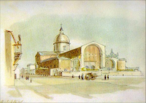 Catedral de Bs. As. 1817 autor Eliot