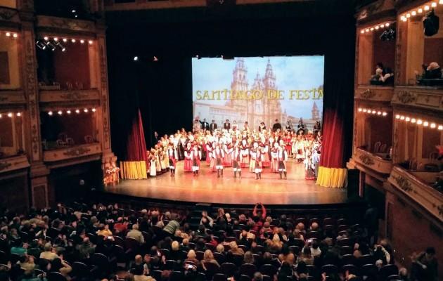 El Día de Galicia se celebró en el Teatro Avenida