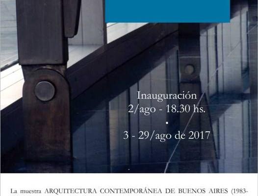 Arquitectura Contemporánea de Bs. As. se inaugurará en el Museo Banco Provincia