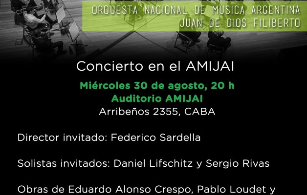 """La Orquesta Nacional de Música Argentina """"Juan de Dios Filiberto"""" actuará en el CCK"""