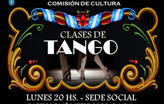 Clases de tango en el Centro Galicia de Buenos Aires