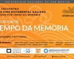 """O Tempo Da Memoria"", quinto encuentro del Ciclo de Cine documental gallego"