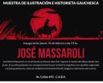 Casa de Mendoza presenta la muestra de José María Massaroli