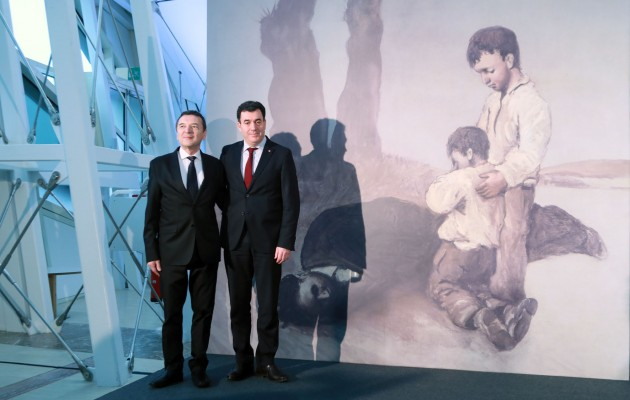'A derradeira leición do mestre' se exhibirá en Galicia