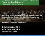 La Orquesta Nacional de Música Argentina «Juan de Dios Filiberto» en el CCK
