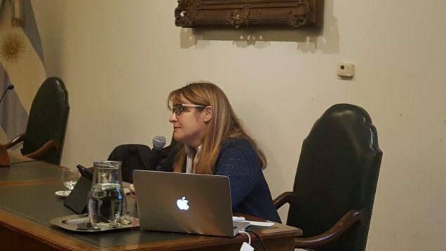 Dra. Susan Seguin disertación en agosto de 2017.