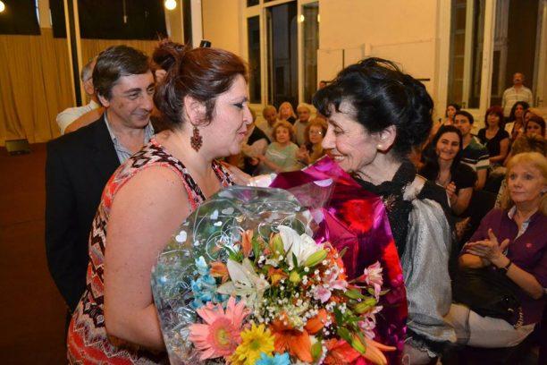 Haydée Battikha Haddad y Florencia Saadi