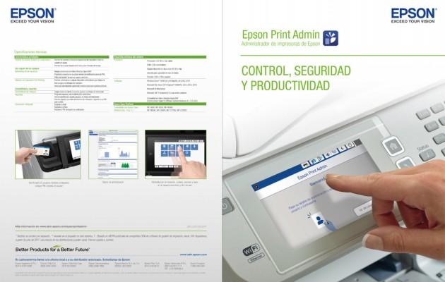 Epson presenta su administrador de impresoras Epson Print Admin