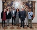 El MEGA recibió la visita de una comitiva del Gobierno del País Vasco