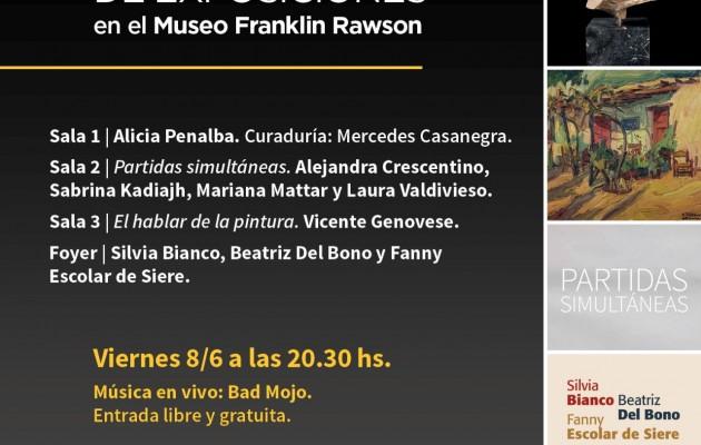 El Museo Franklin Rawson presenta cuatro importantes exposiciones
