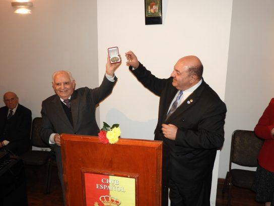 Benito Blanco y Juan Sarrafián